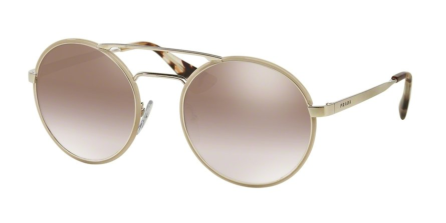 Prada 0PR 51SS Light Brown Sunglasses