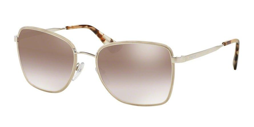 Prada 0PR 52SS Light Brown Sunglasses