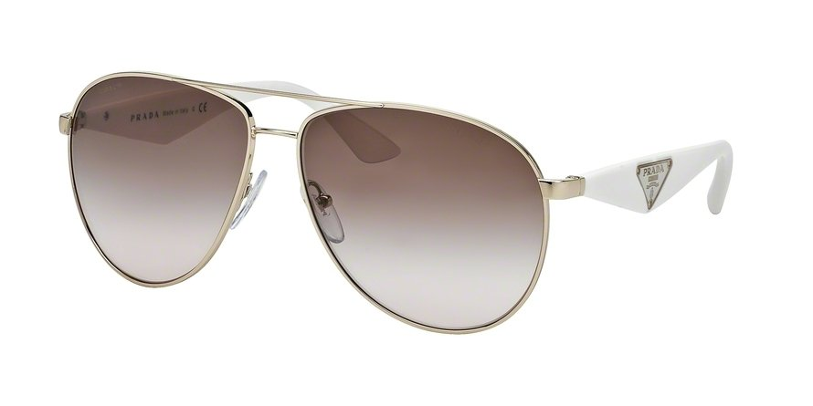 Prada 0PR 53QS Gold Sunglasses