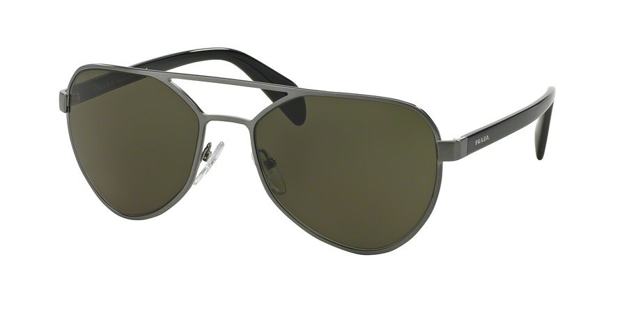 Prada 0PR 55RS Gunmetal Sunglasses