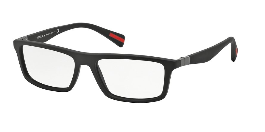 Prada Linea Rossa 0PS 02FV Black Eyeglasses