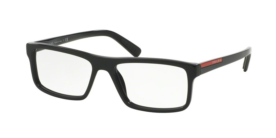 Prada Linea Rossa 0PS 04GVF Black Eyeglasses