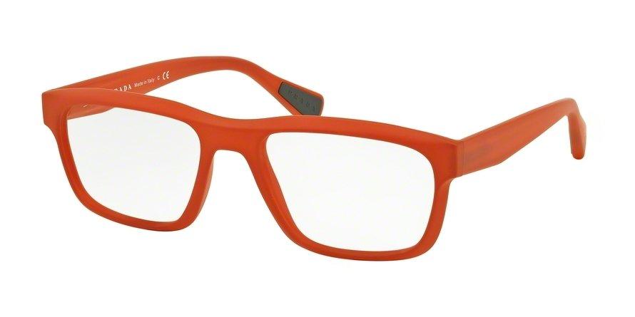 Prada Linea Rossa 0PS 07GV Orange Eyeglasses