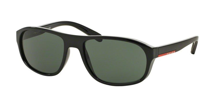 Prada Linea Rossa 0PS 01RS Black Sunglasses