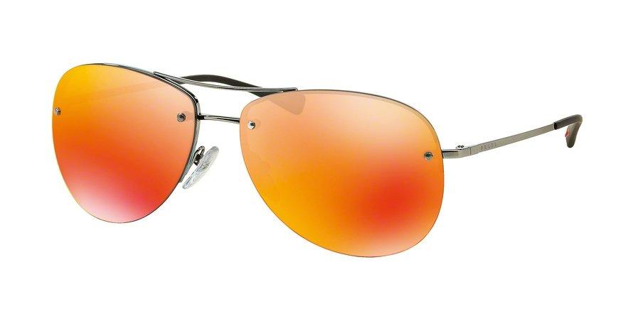 Prada Linea Rossa 0PS 50RS Gunmetal Sunglasses