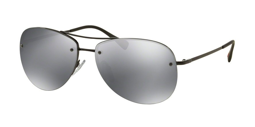 Prada Linea Rossa 0PS 50RS Black Sunglasses