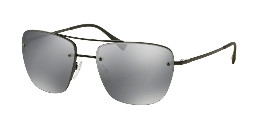 Prada Linea Rossa 0PS 52RS Black Sunglasses