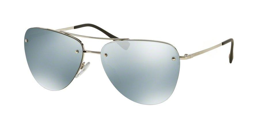 Prada Linea Rossa 0PS 53RS Silver Sunglasses