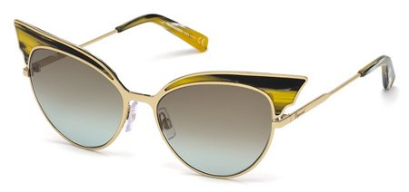 DSQUARED2 DQ0166 LOLLO 64F   - coloured horn / gradient brown Metal