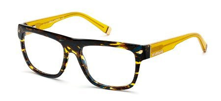 DSQUARED2 DQ5076 055   - coloured havana Plastic