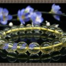 Natural yellow crystal bracelet 10MM