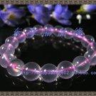 Natural pink crystal bracelet 10MM