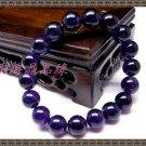 Natural purple crystal bracelet 10MM