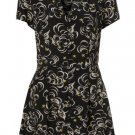 Topshop Black Angels Print Shirt Dress UK8/36/4 BNWT RRP £46