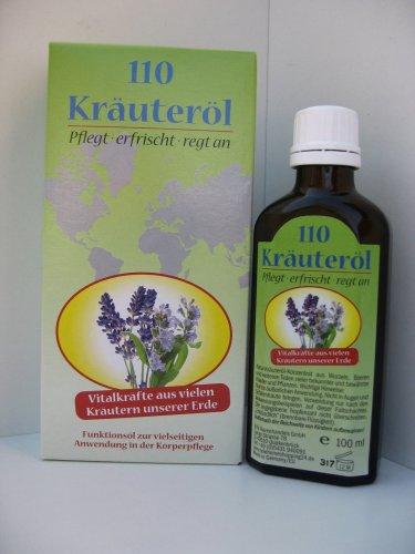 Herbal Oil 110 Herbs - 3.4oz