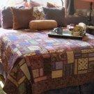 Dutchman's puzzle queen size quilt