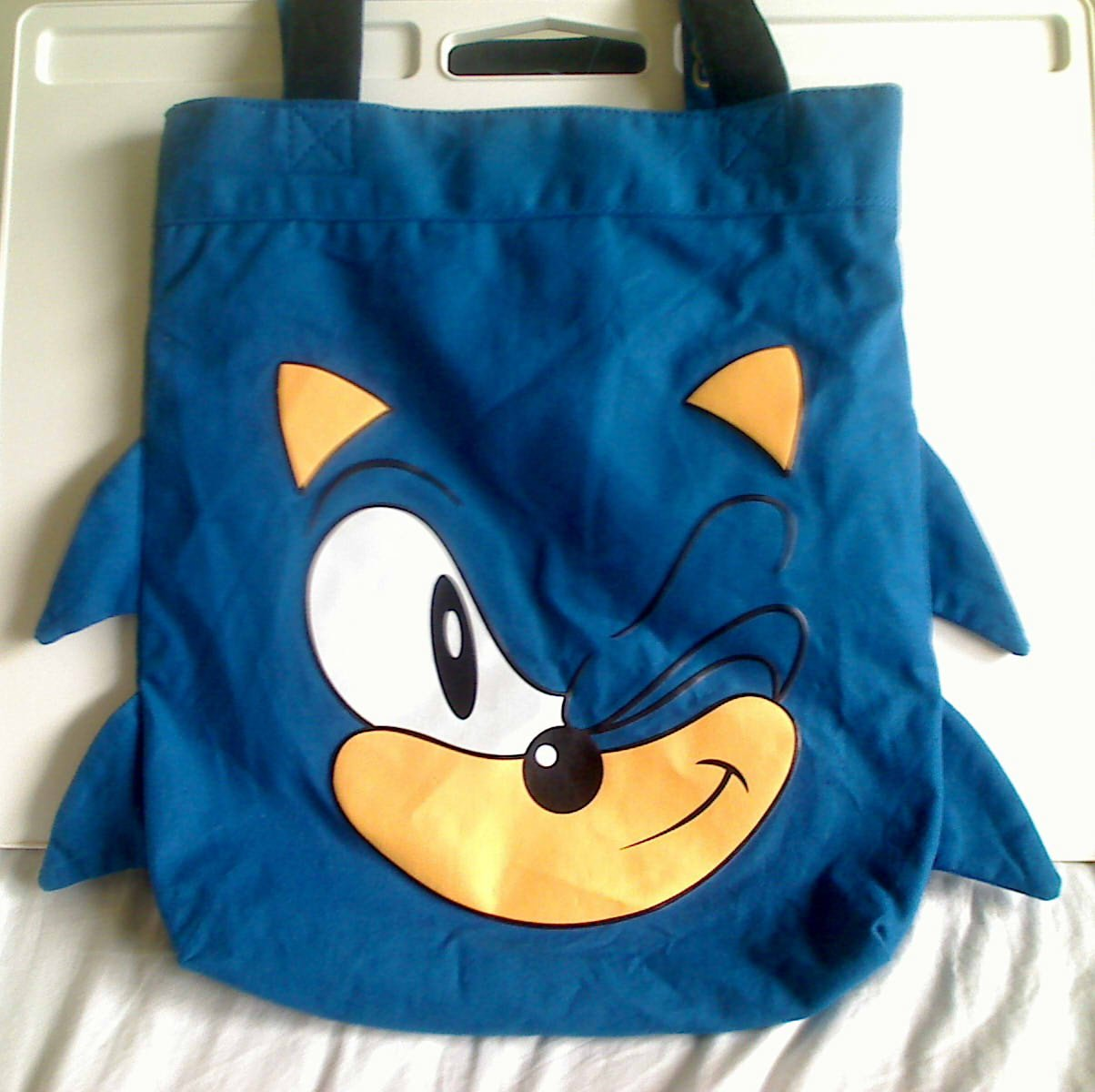 Classic SEGA Sonic the Hedgehog Blue Bag