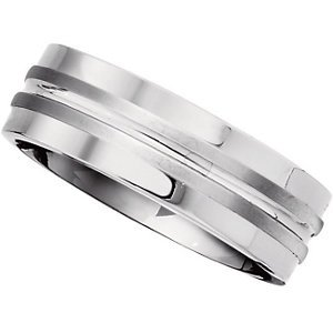 Men's & Women's Titanium Wedding Band Ring - T935