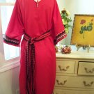Custom Order Red Native American Indian Style Pow Wow Dress Regalia Costume
