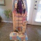 Native American Indian Buckskin and Velvet Pow Wow Regalia Dress