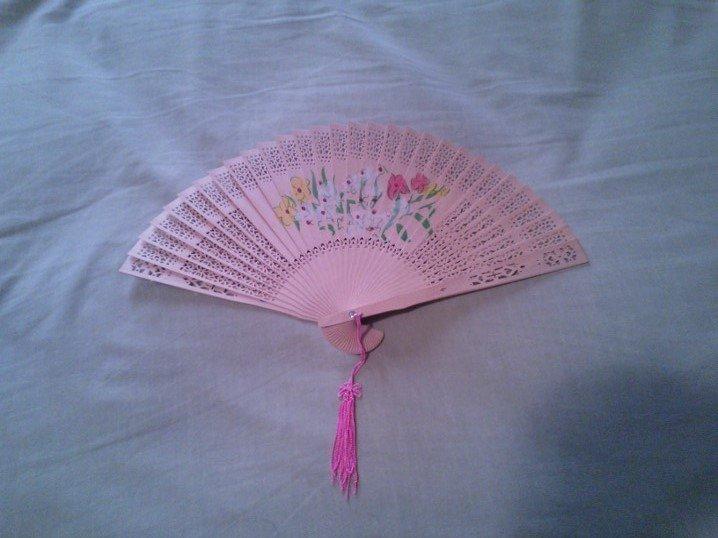 18th Century, Regency, Colonial, Marie Antoinette Bouquet Fan