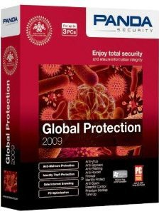 NEW Panda Global Protection 2009 - 3 User