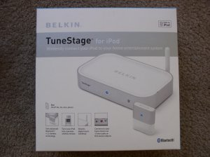 NEW Belkin TuneStage Bluetooth-Enabled Transmitter for iPod