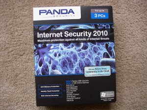 New Panda Internet Security 2010 3 PCs