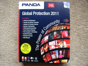 New Panda Global Protection 2011 - 3 PCs