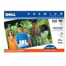 New Dell Premium Photo Paper 4 X 6 High Gloss 10.25 Mil. 100 Sheets