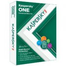 NEW kaspersky one 5 device 1 year retail