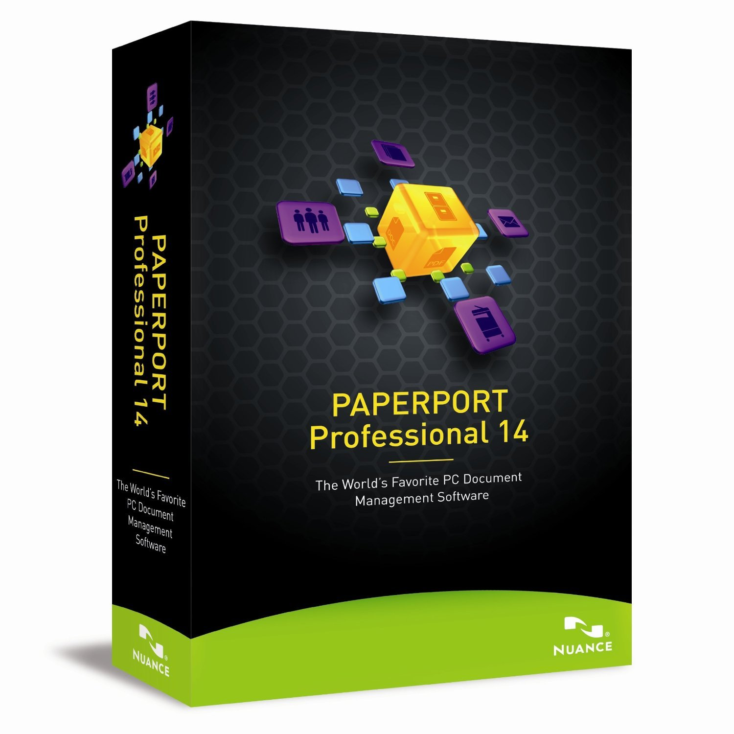 Nuance PaperPort Professional 14 - Brand New Sealed in Retail Box