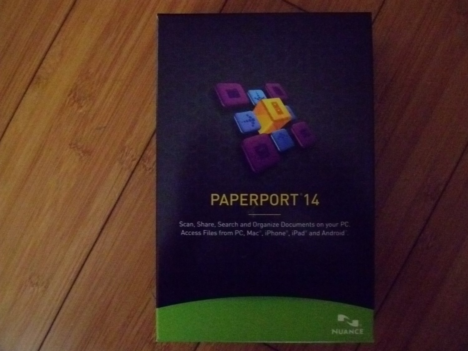 Nuance PaperPort 14.0 - Full Version for Windows Brand new sealed