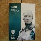 NEW ESET NOD32 AntiVirus 2015 3 user 1 Year (PC)