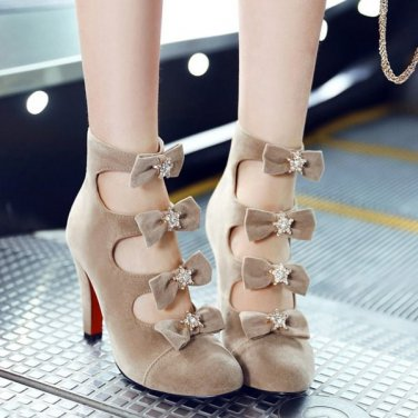 Party Pumps With Bowknots