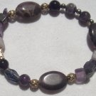 Amethyst Gemstone bracelet - stretch