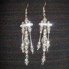 April - Crystal Chandelier Earrings