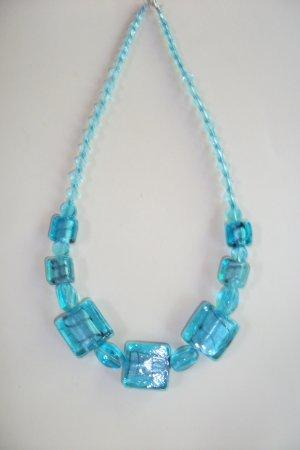 Retro - Aqua Necklace