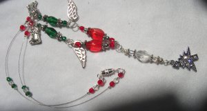 Christmas necklace - bonbon