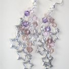 Starlight Earrings - Amethyst