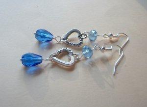 Sapphire Sweet Heart Earrings 11