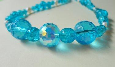 Brilliant Aqua Necklace