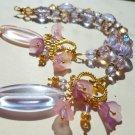 Floral Fantasy - Pink, Amethyst & Gold