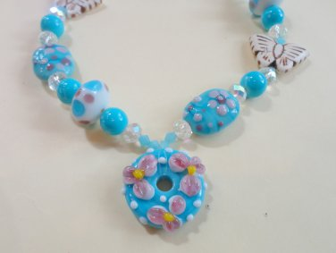 Pastel Perfection Bead Necklace