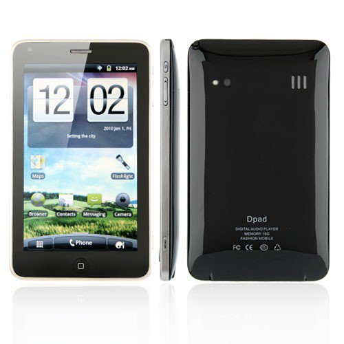 Dapeng A8500+ Android 2.3 OS Smart Phone 3G TV GPS WiFi 5.0 Inch Multi-touch 8.0MP Camera