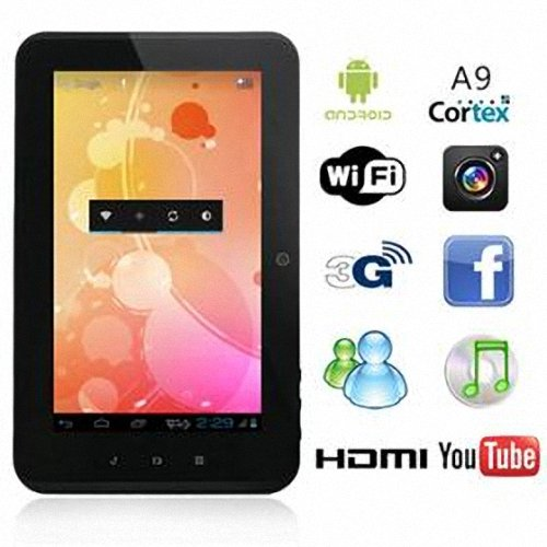 Zenithink C71 Android 4.0 Tablet PC 7 inch Capacitive Multi Touch, Cortex A9 1GHz, 512MB/4GB Flash