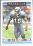 2006 Topps D.J. Hackett #95 Seahawks