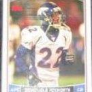 2006 Topps Domonique Foxworth #46 Broncos