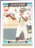 2006 Topps Byron Leftwich #218 Jaguars