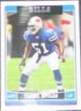 2006 Topps Takeo Spikes #105 Bills